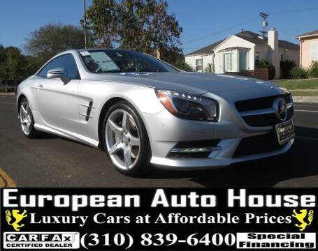 2013 Mercedes-Benz SL-Class for sale at European Auto House in Los Angeles CA