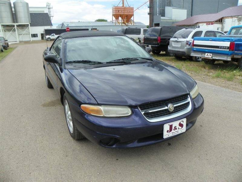 1998 Chrysler Sebring for sale at J & S Auto Sales in Thompson ND