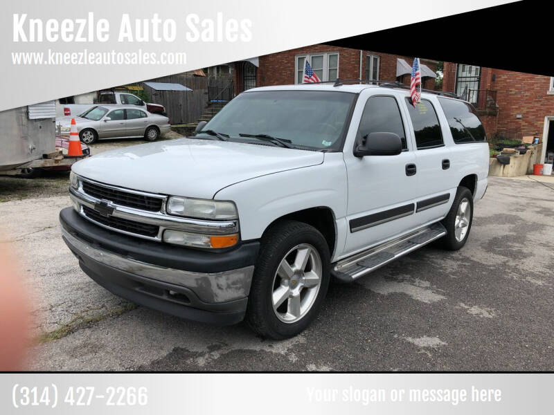 2006 Chevrolet Suburban for sale at Kneezle Auto Sales in Saint Louis MO
