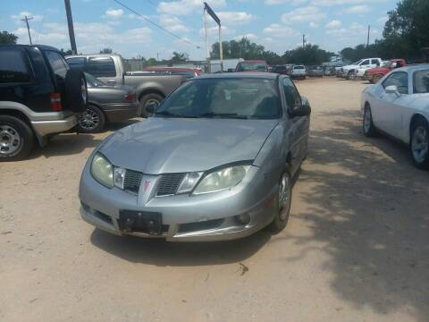 2005 Pontiac Sunfire for sale at KK Motors Inc in Graham TX
