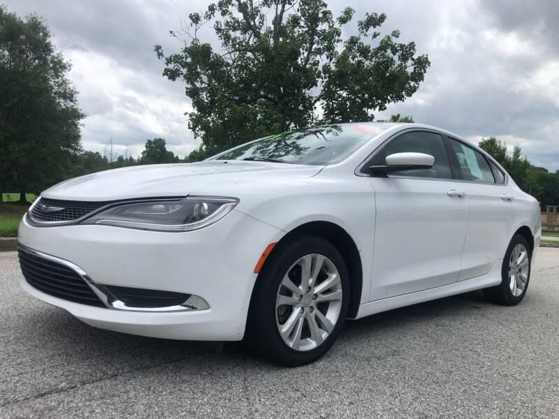 2015 Chrysler 200 for sale at Chris Motors in Decatur GA