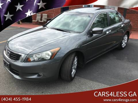 2008 Honda Accord for sale at Cars4Less GA in Alpharetta GA