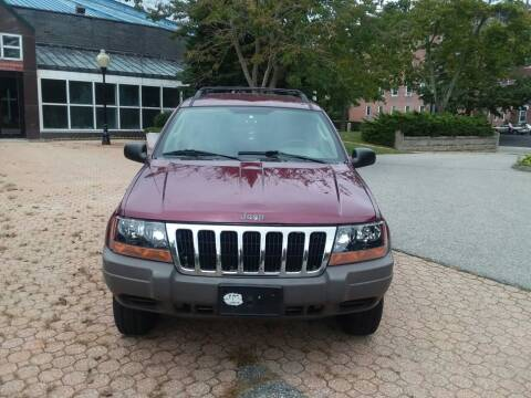 2003 Jeep Grand Cherokee for sale at Better Auto in South Darthmouth MA
