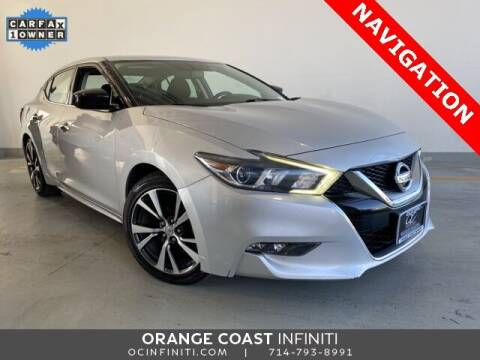 2016 Nissan Maxima for sale at ORANGE COAST CARS in Westminster CA