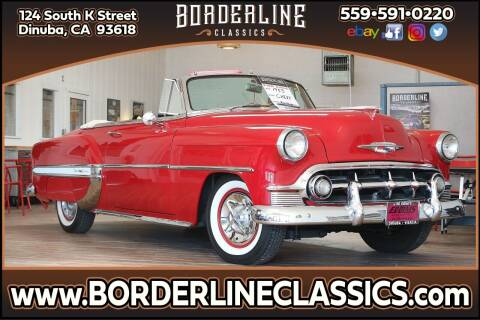 1953 Chevrolet Bel Air for sale at Borderline Classics in Dinuba CA