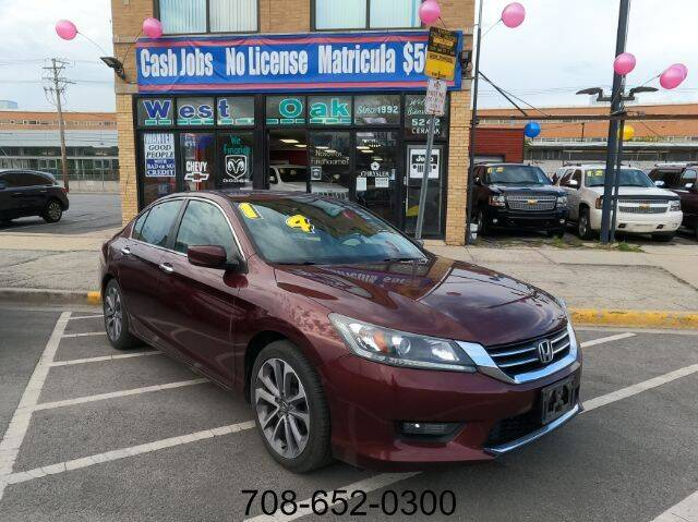 2014 Honda Accord for sale at West Oak in Chicago IL