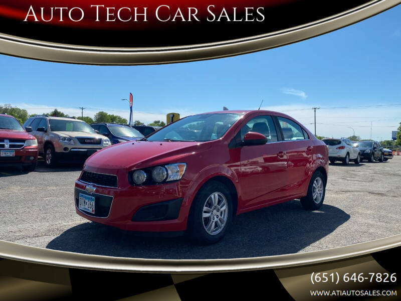 2013 Chevrolet Sonic for sale at Auto Tech Car Sales in Saint Paul MN