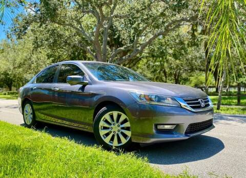 2015 Honda Accord for sale at Venmotors LLC in Hollywood FL