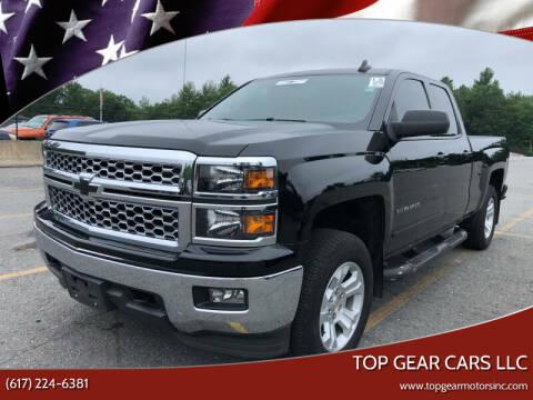 2015 Chevrolet Silverado 1500 for sale at Top Gear Cars LLC in Lynn MA