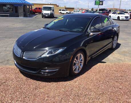 2013 Lincoln MKZ for sale at SPEND-LESS AUTO in Kingman AZ