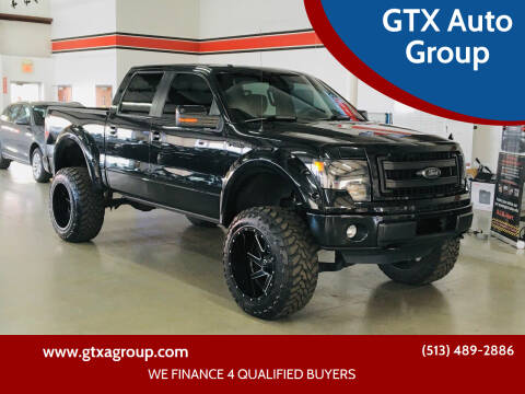 2013 Ford F-150 for sale at GTX Auto Group in West Chester OH