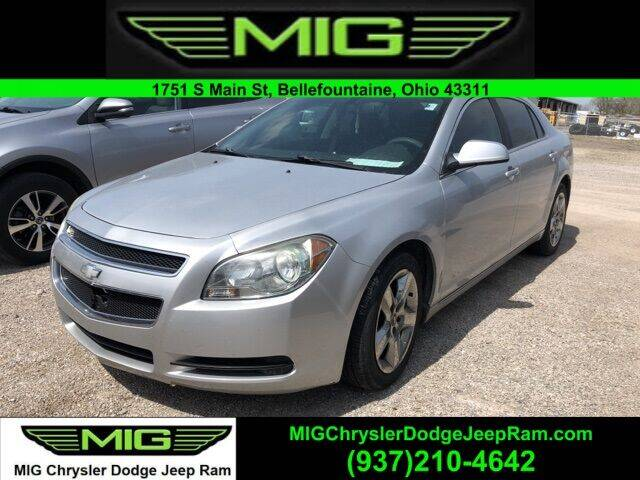 2010 Chevrolet Malibu for sale at MIG Chrysler Dodge Jeep Ram in Bellefontaine OH