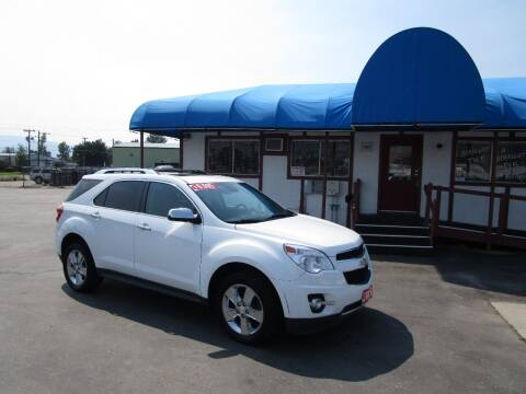 2012 Chevrolet Equinox for sale at Jim's Cars by Priced-Rite Auto Sales in Missoula MT