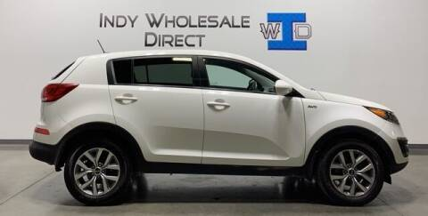 2016 Kia Sportage for sale at Indy Wholesale Direct in Carmel IN
