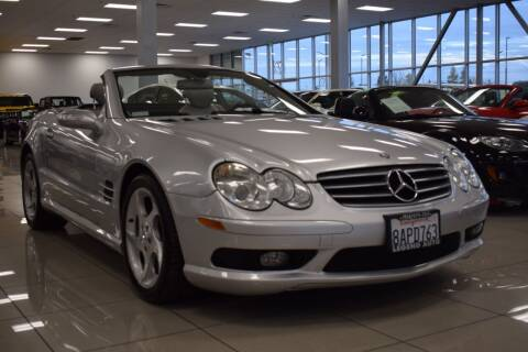 2005 Mercedes-Benz SL-Class for sale at Legend Auto in Sacramento CA