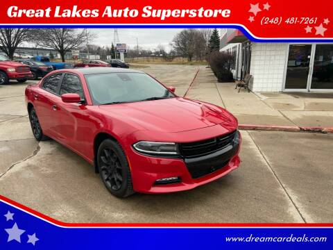 2015 Dodge Charger for sale at Great Lakes Auto Superstore in Pontiac MI