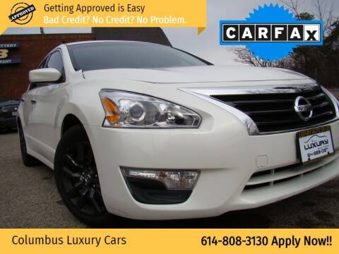 2015 Nissan Altima for sale at Columbus Luxury Cars in Columbus OH