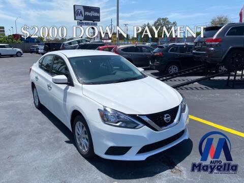 2018 Nissan Sentra for sale at Auto Mayella in Miami FL