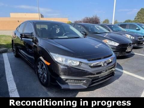 2017 Honda Civic for sale at Jeff Drennen GM Superstore in Zanesville OH
