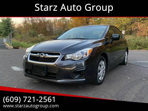 2013 Subaru Impreza for sale at Starz Auto Group in Delran NJ