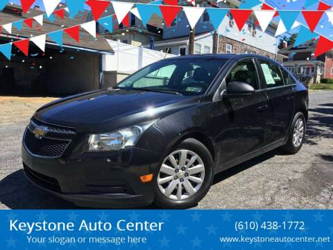2011 Chevrolet Cruze for sale at Keystone Auto Center LLC in Allentown PA