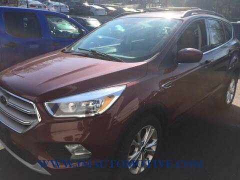 2018 Ford Escape for sale at J & M Automotive in Naugatuck CT