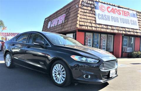 2015 Ford Fusion Energi for sale at CARSTER in Huntington Beach CA