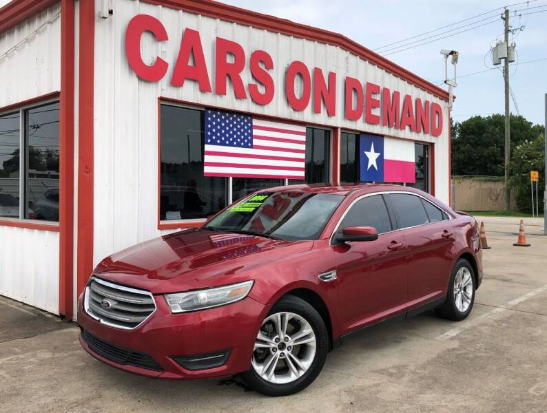 2014 Ford Taurus for sale at Cars On Demand 3 in Pasadena TX