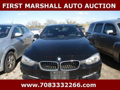 2012 BMW 3 Series for sale at First Marshall Auto Auction in Harvey IL