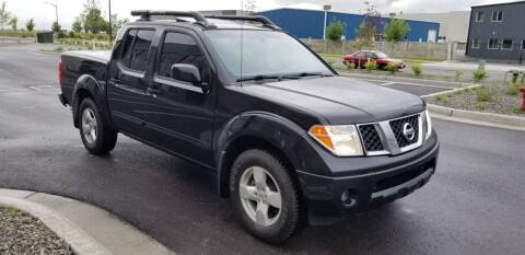 2006 Nissan Frontier for sale at FRESH TREAD AUTO LLC in Springville UT