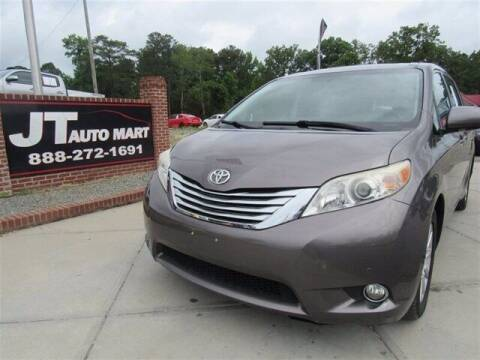 2011 Toyota Sienna for sale at J T Auto Group in Sanford NC