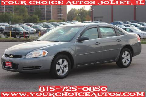 2008 Chevrolet Impala for sale at Your Choice Autos - Joliet in Joliet IL