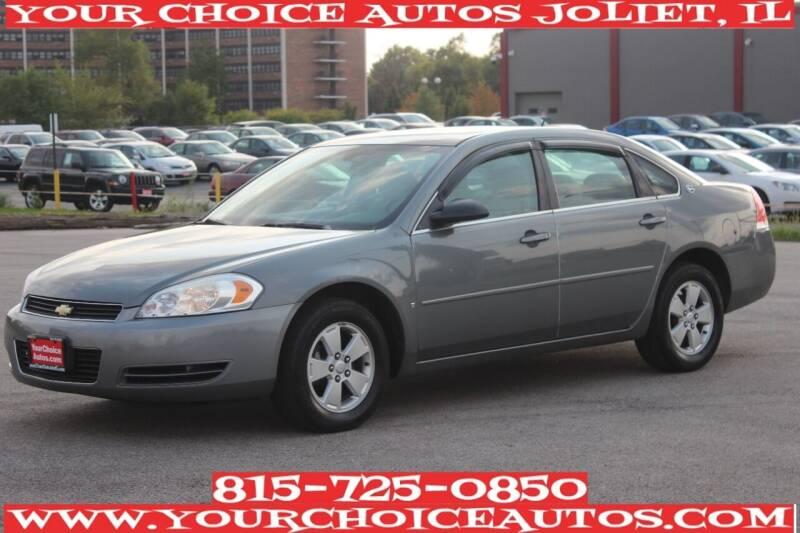 2008 Chevrolet Impala for sale at Your Choice Autos - Joliet in Joliet IL