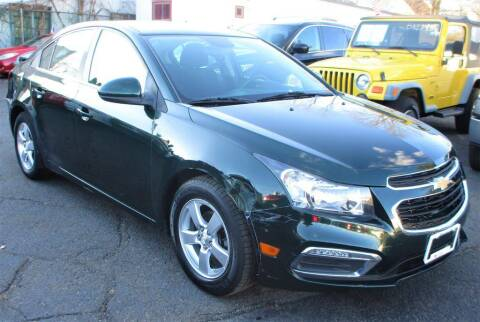 2015 Chevrolet Cruze for sale at Exem United in Plainfield NJ