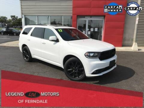 2017 Dodge Durango for sale at Legend Motors of Detroit - Legend Motors of Ferndale in Ferndale MI