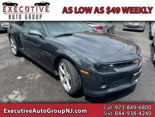 2014 Chevrolet Camaro for sale at Executive Auto Group in Irvington NJ