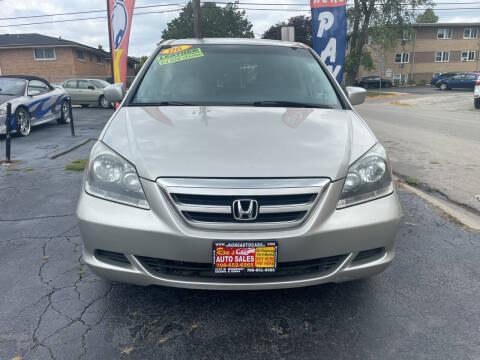 2006 Honda Odyssey for sale at RON'S AUTO SALES INC in Cicero IL