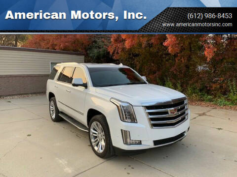 2019 Cadillac Escalade for sale at American Motors, Inc. in Farmington MN