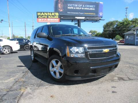2013 Chevrolet Tahoe for sale at Hanna's Auto Sales in Indianapolis IN