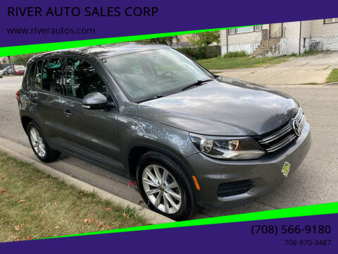 2014 Volkswagen Tiguan for sale at RIVER AUTO SALES CORP in Maywood IL