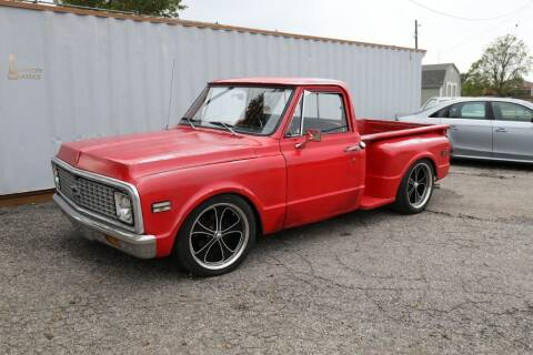 1972 Chevrolet C/K 10 Series for sale at Queen City Classics in West Chester OH