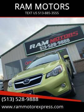 2014 Subaru XV Crosstrek for sale at RAM MOTORS in Cincinnati OH