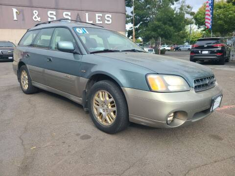 2001 Subaru Outback for sale at Universal Auto Sales in Salem OR