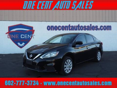 2018 Nissan Sentra for sale at One Cent Auto Sales in Glendale AZ