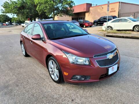 2013 Chevrolet Cruze for sale at Image Auto Sales in Dallas TX