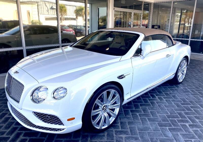 2016 Bentley Continental for sale at Suncoast Sports Cars and Exotics in West Palm Beach FL