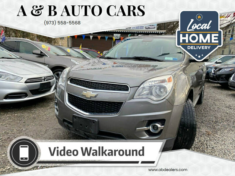 2012 Chevrolet Equinox for sale at A & B Auto Cars in Newark NJ