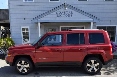 2016 Jeep Patriot for sale at Coastal Motors in Buzzards Bay MA