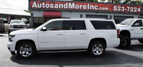 2015 Chevrolet Suburban for sale at Autos and More Inc in Knoxville TN