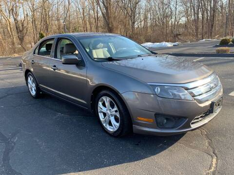 2012 Ford Fusion for sale at Volpe Preowned in North Branford CT